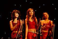 Concerto do Mo Hualun na Noite de Natal Foto de Stock