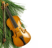 Concerto do Natal Foto de Stock