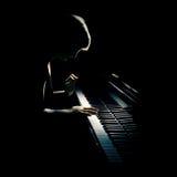 Concerto do piano imagens de stock