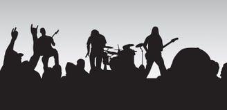 Concerto do punk Foto de Stock