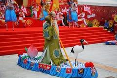 Concerto durante il nuovo anno cinese Fotografia Stock