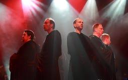Concerto gregoriano Fotografia de Stock