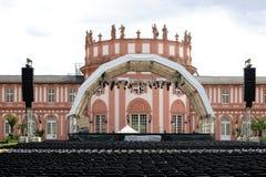 Concerto no castelo Biebrich Imagem de Stock Royalty Free