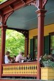 Concerto para visitantes no patamar de Grant Cottage, Sa imagens de stock royalty free