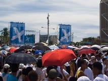 Concerto per pace a Avana, Cuba (i) Fotografie Stock Libere da Diritti