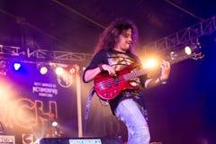 Concerto rock Fotografie Stock Libere da Diritti