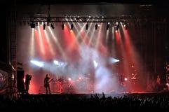 Concerto rock immagini stock libere da diritti