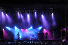 Concerto rock Fotografia Stock