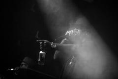 Concerto in tensione di Outlawz a Mosca Russia Fotografie Stock Libere da Diritti