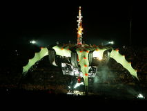 Concerto U2 fotografia stock libera da diritti