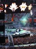 Concerto U2 em Milão Foto de Stock Royalty Free