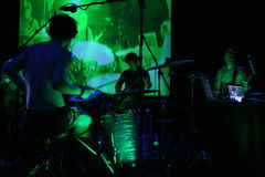 Concerto verde Imagem de Stock Royalty Free