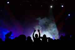 Concerto vivo Imagens de Stock