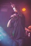Concerto vivo de Outlawz em Moscou Rússia Fotografia de Stock