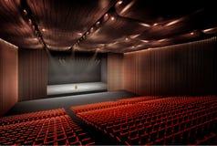Concertzaal Stock Foto's