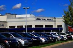 Concesión de coche de Acura Fotografía de archivo libre de regalías