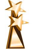 Concesión del ganador de las estrellas dobles Fotografía de archivo libre de regalías