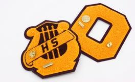 Concesiones de la High School secundaria Imagen de archivo