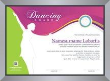 Concessão de dança ilustração royalty free