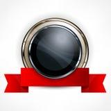 Concessão metálica com fita Fotos de Stock