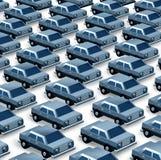 Concessionário automóvel ilustração stock