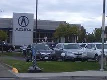 Concessionário automóvel de Acura fotos de stock royalty free