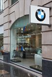 Concessionário automóvel de BMW Imagem de Stock Royalty Free