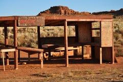 Concession abandonnée de Navajo photographie stock libre de droits