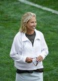 Concession de Dee Haslam Owner NFL Cleveland Browns image libre de droits