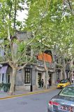 Concession de Français de Changhaï photos stock