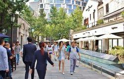Concession de Français de Changhaï images libres de droits