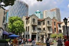 Concession de Français de Changhaï image stock