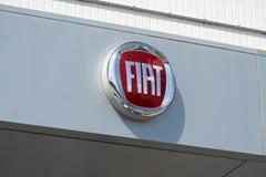 Concessionario auto di Fiat immagine stock