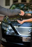 Concessionnaire automobile Photo libre de droits