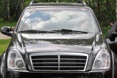 Concessionnaire automobile Photos stock