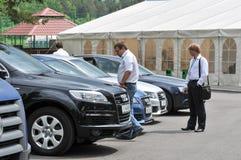 Concessionnaire automobile Image stock
