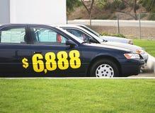 Concessionnaire automobile Image libre de droits