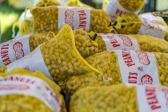Concessions de festival d'arachide photographie stock libre de droits