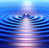 Concetric Ripples Stock Image