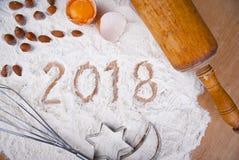 2018 concetti bollenti Fotografia Stock