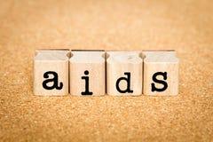 Concetti dell'AIDS Immagini Stock