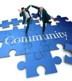 Concetti della Comunità Immagine Stock Libera da Diritti