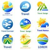 Concetti della società di viaggio Fotografie Stock