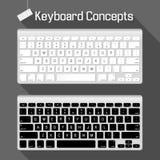 Concetti della tastiera Fotografia Stock