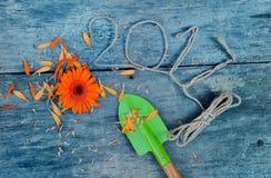 2017 concetti di giardinaggio Immagine Stock
