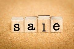 Concetti di vendita Fotografia Stock Libera da Diritti