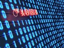 Concetto 01 del virus di tecnologia Immagini Stock