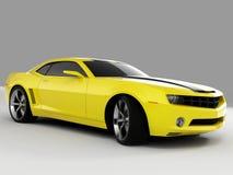 Concetto 2009 del Chevrolet Camaro Fotografie Stock Libere da Diritti