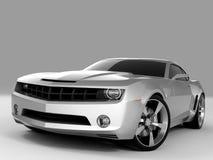 Concetto 2009 del Chevrolet Camaro Fotografia Stock Libera da Diritti