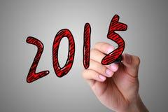 Concetto 2015 Immagine Stock